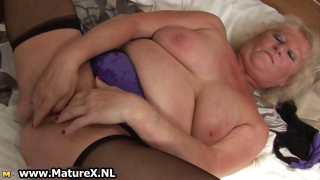 Porno Video of Bbw Blonde Housewife Fucking Part1