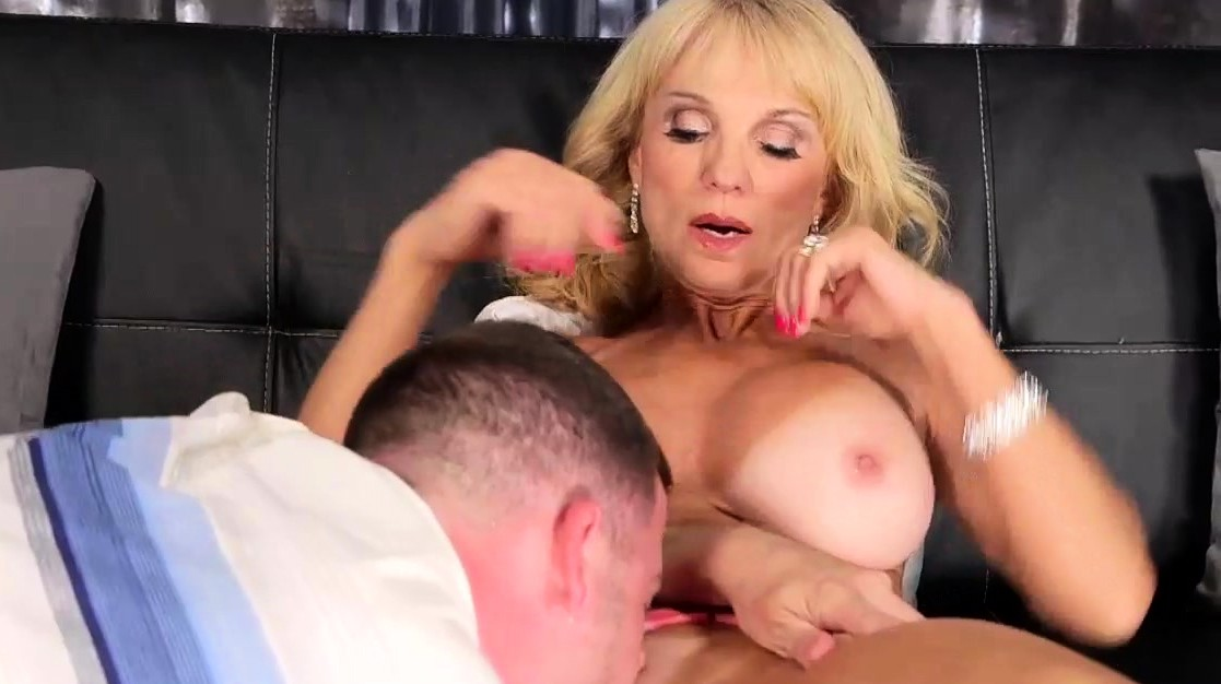 Busty Mature Blonde Needs Good Fuck