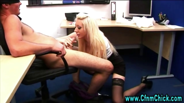 Porn Tube of British Cfnm Voyeur Handjob