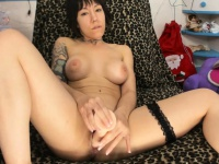 Hot ShortHaired busty Masturbating Like Crazy | Porn-Update.com
