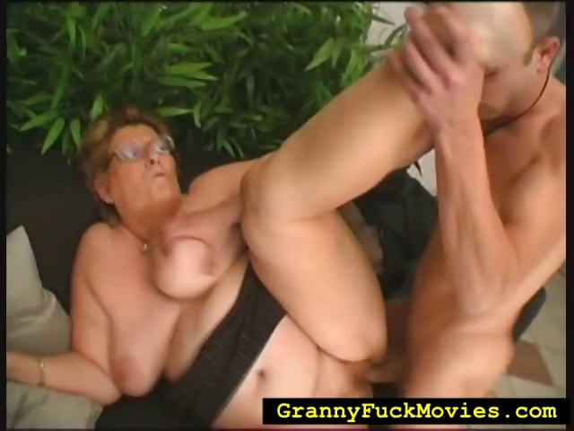 Porno Video of Granny Rolled Over To Get Fucked