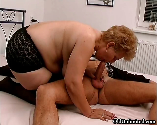 Porn Tube of Fat Old Mom With Big Tits Loves Sucking Part6