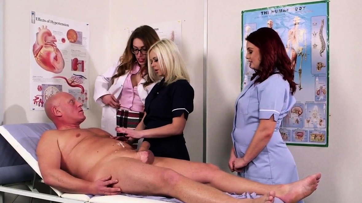Cfnm Doctor Babe Makes Patient Sperm Spray