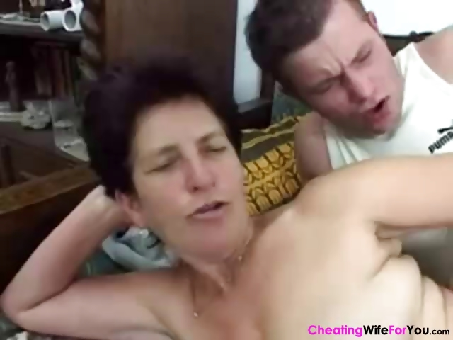 Porn Tube of Granny Love Grandson Big Dick