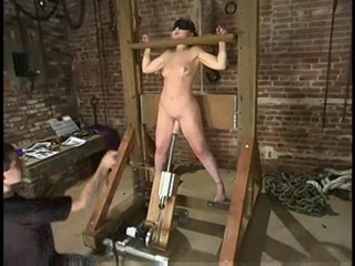 Porno Video of Babydoll Worked Over In The Stocks