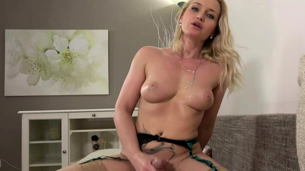 Kathia Nobili - Busty Blonde Pleased With Cock