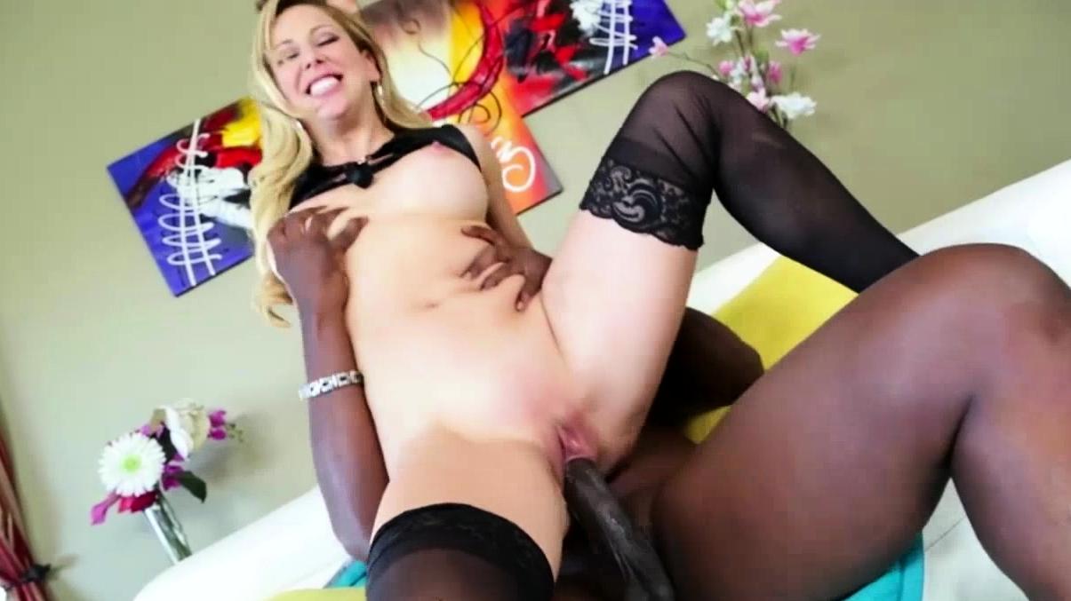 Milf Cherie Loves To Ride A Huge Black Dick
