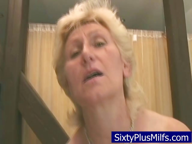 Sex Movie of Granny Fucking With Her New Toy Dick