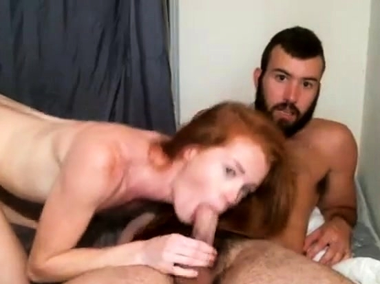 Sexy Pale Redhead Moans From Fuck Doggystyle