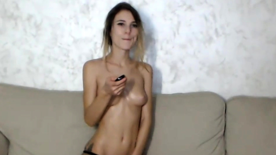 Beautiful Teen Whore Playing With Her Beaver