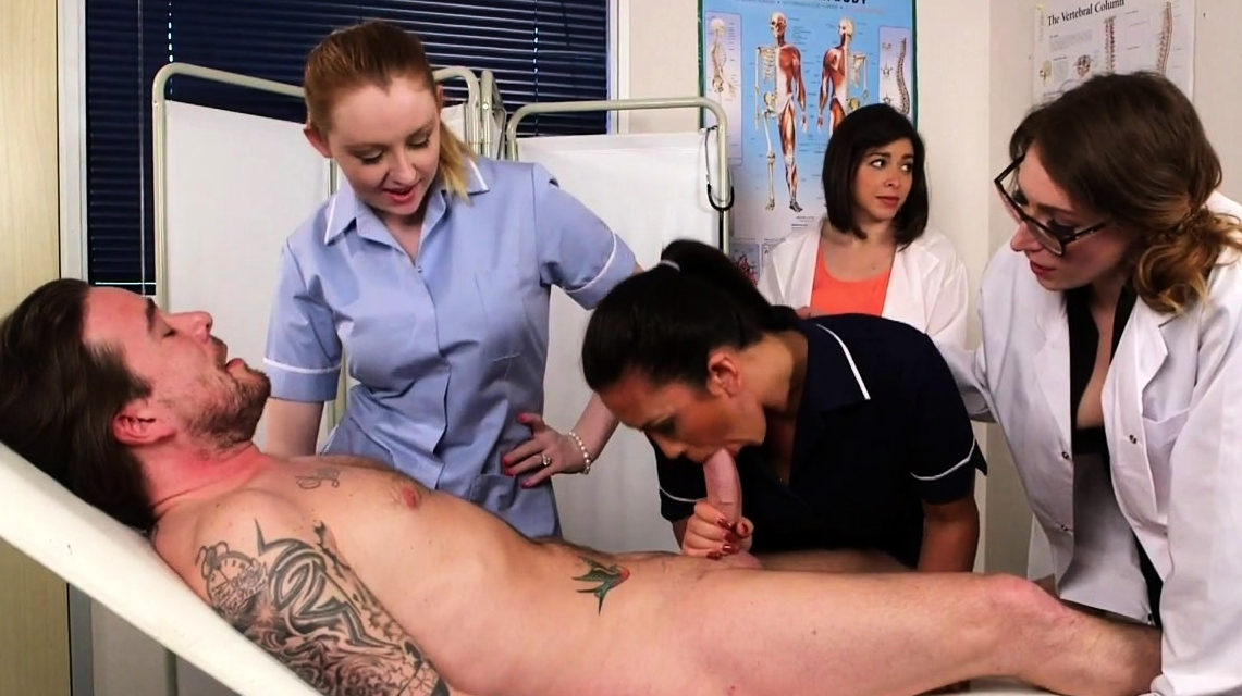 British Cfnm Nurses Cocksucking Paciente