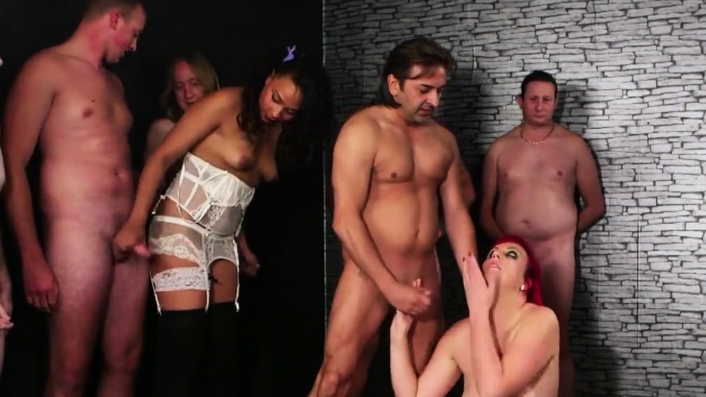 Sexy Model Gets A Shot Of Cum On Her Face Swallowing All The Ji