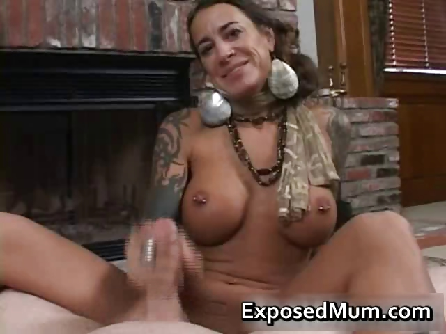 Porno Video of Round Bigtits Tattooed Mom Fireplace Part3