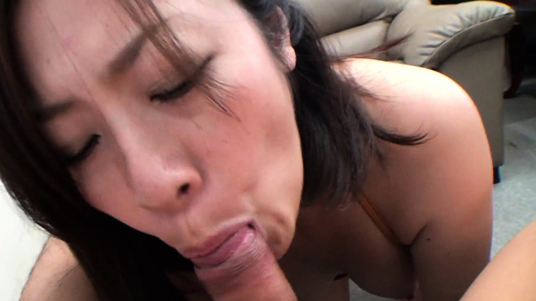 Asian Teen Brunette With Golden Panties Getting Banged