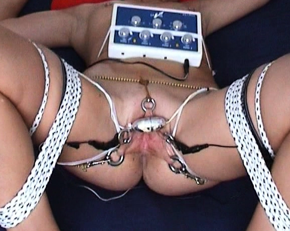 Electro Torture Extreme 302 Orgasmos Bondage Electric Shock