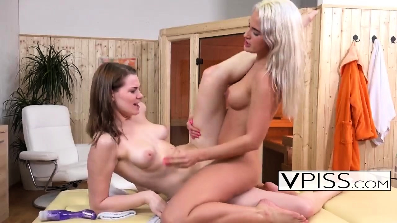 Beautiful Lesbians Love Their Feet And Wet Pussy