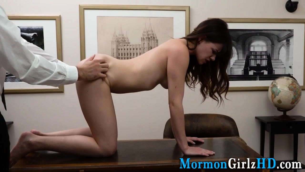 Teen Missionary Rubs Pussy