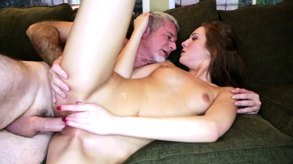 Pervy Daddy Fucking Molly Mansons Teen Pussy On Top