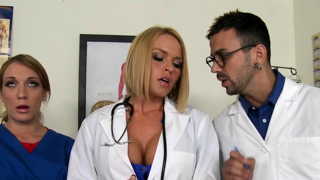Nurse Milfs Sharing Hard Cocks In The Cfnm Group
