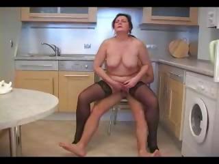 Porno Video of Mature Fucked In Kitchen