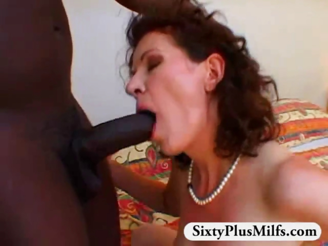 Porno Video of Granny Bush Fucked By Black Stud