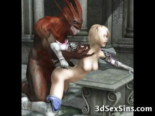 Porno Video of Demons Fuck 3d Elf Girls!