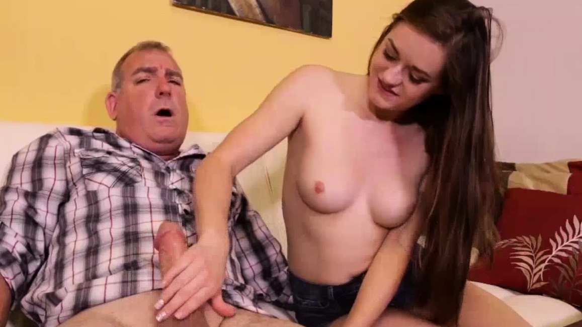 Mature Guy Does Not Want Wife To Know Cock Masturbating With Teen