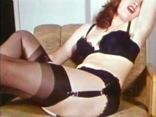 Something Weird Retro Tease Vintage Stockings and Panties2.flv