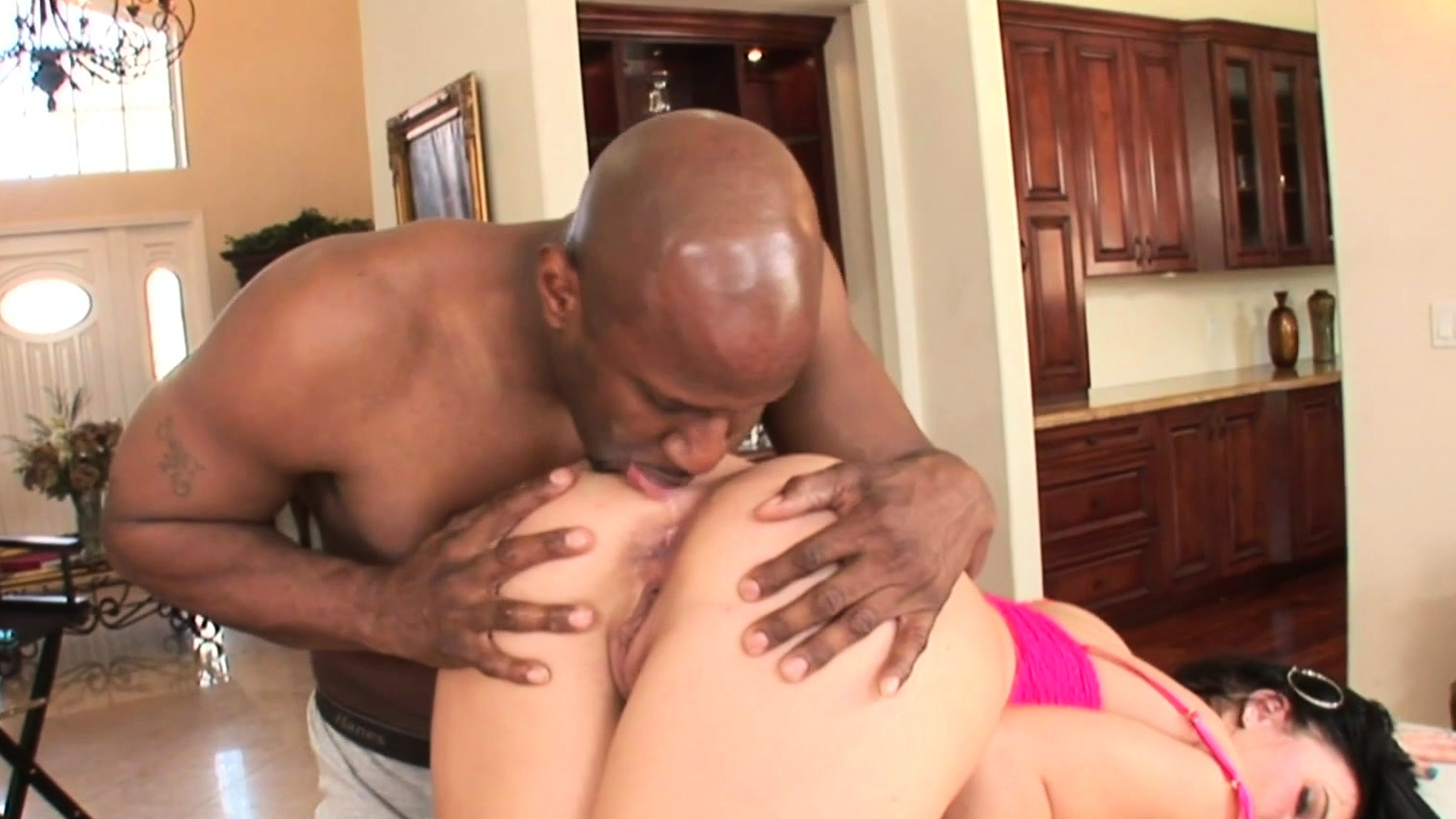 Interracial Anal Penetration With Ashli Orion
