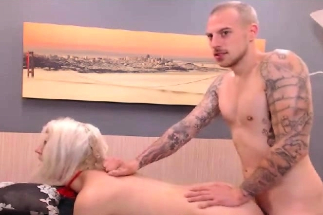 Horny Blonde Girl Gets Sexy Time With Her Man