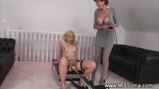 Porno Video of Busty Milf Helps Lady Reach An Orgasm