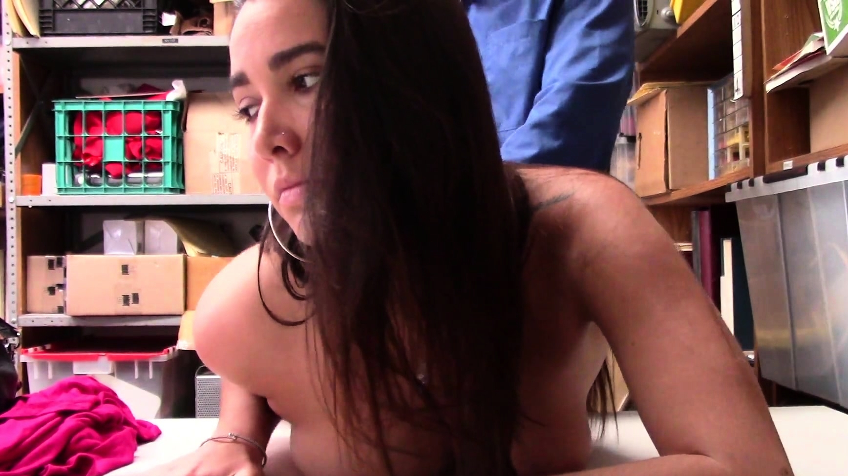 Huge Tits Teen Thief Karlee Gets Fucked
