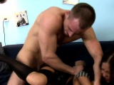 Curious stepsis gets brother to make love her