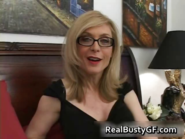 Porn Tube of Blonde Mom In Glasses Licking Stiff Part4
