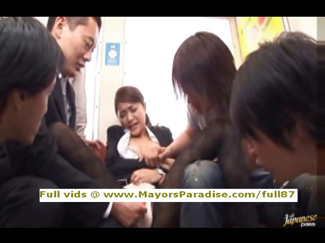 Porno Video of Mihiro Innocent Asian Girl Gets A Subway Fucking