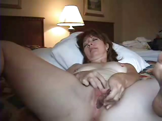 Porn Tube of Horny Mature Wife Anal Masturbating
