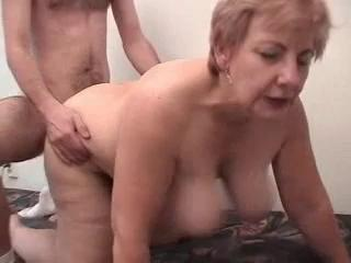Porno Video of Fat Grandma Having Fun With A Male Prostitute