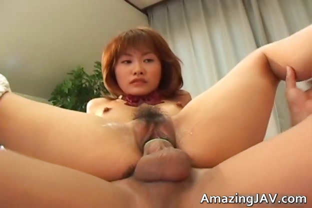 Porno Video of Cute Readhead Japanese Teen Spreading Part5