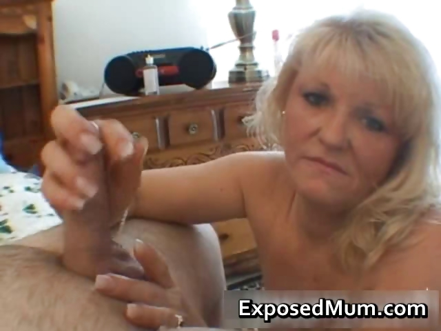 Porno Video of Nasty Mom Shows Her Juggs And Sucks Cock Part3