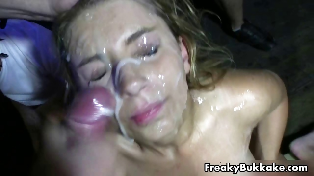 Porno Video of Filthy Blonde Slut Loves Getting Cum Part5
