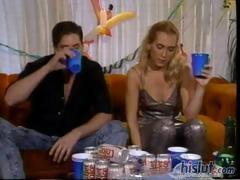 Жену оттрахали по пьяни