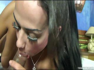 Cute Shemale Horny For Cock