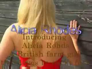Porn Tube of Alicia Rhodes Has Amazing Natural Boobs