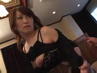 Mature asian an aunt need sex with a man on the sofa