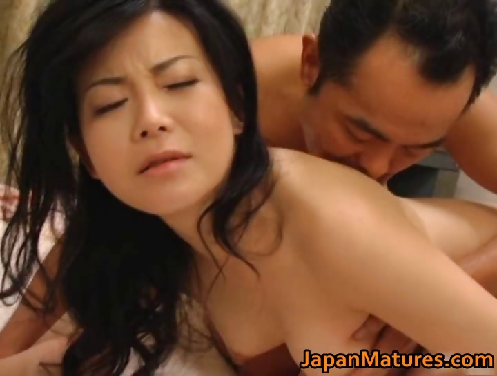 Porn Tube of Horny Japanese Mature Babes Sucking Part1