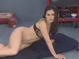 Porn Tube of Aria Giovanni - Star Strip
