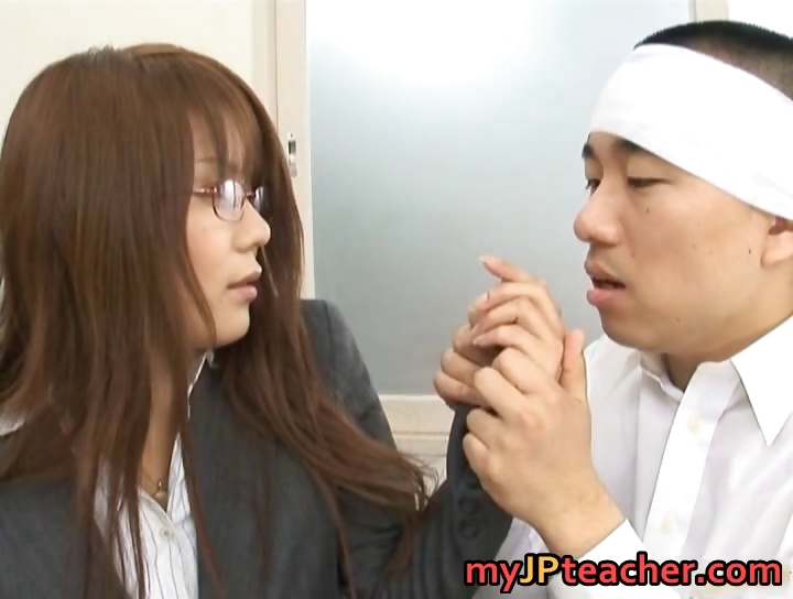 Porno Video of Megu Ayase Lovely Asian Teacher Part1