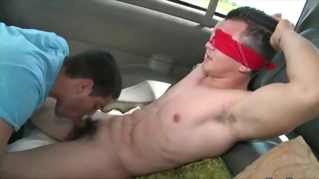 Porno Video of Straighty Blindfolded Tricked Into Gay Blowjob