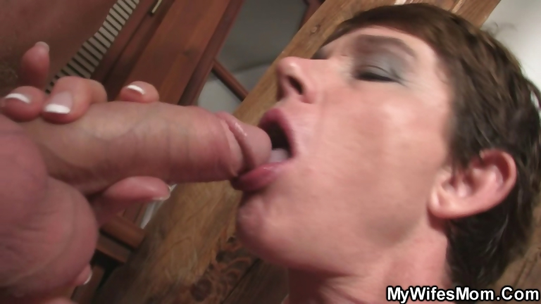 Porno Video of Cock Hungry Granny Seduces Her Son In Law