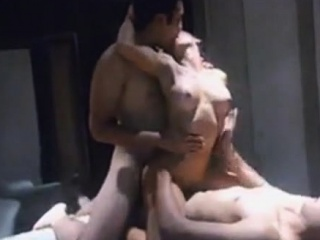 Порно двойное проникновение ебалка